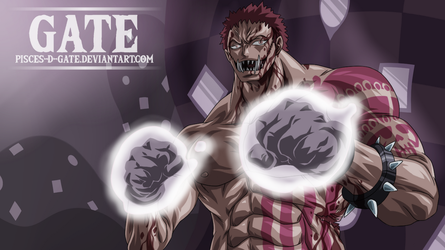 One Piece Scan 893 - Charlotte Katakuri by Pisces-D-Gate