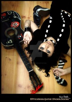 Priceless.Guitar.Shoes.Socks by evil-deathfairy