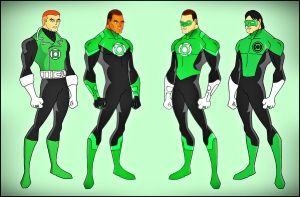 Green Lantern Corp of Earth by DraganD