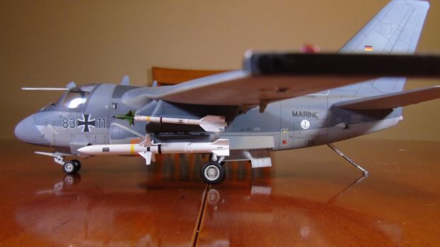 1/48 Scale S-3GC Viking (side) by Coffeebean2