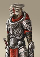 Fantasy Redesign: Turian - Mass Effect by FonteArt