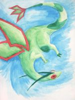 Flygon by beverly546