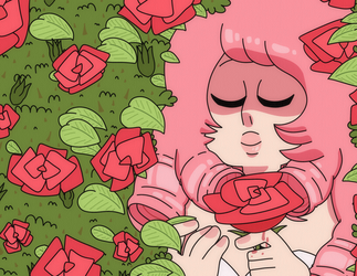 Rose in the Garden by thelichwitch