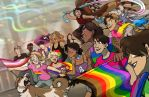 Marching with Pride|PRIDE2018 by CRFahey