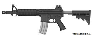 Tate Arm's TAR-15 Sport Rifle by GeneralTate
