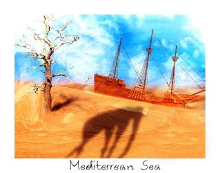 Mediterrean Sea by Poerti