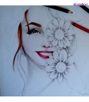 The Flower Girl -WIP- by Duchess47