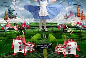 Alice In A Maze Copy by MrsSerrano1