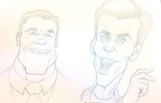 Caricature attempt part 2 by mdobbie