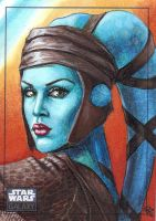 Aayla Secura, Galaxy 6 II by Dangerous-Beauty778
