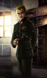 Hermann Fegelein by Doqida