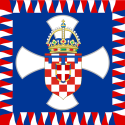 Royal Standard of the Crown Prince of Croatia by Jake456