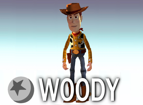((Old photo remake)) Woody in Lawl by woodyfromtexas