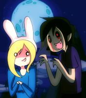 Hey Fionna look at me by Lezzette