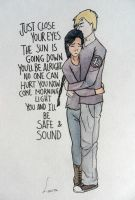 Katniss and Peeta:Safe and Sound by EowynLaurelin