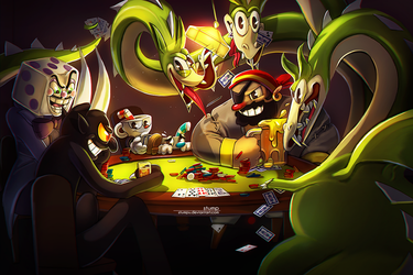 Poker Night by Stumpu