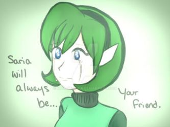 Saria Will Always Be... Your Friend by MadameLoca