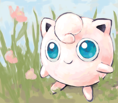 another jigglypuff by SailorClef