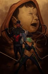 Blood And Jade No.1 Cover by akins7075