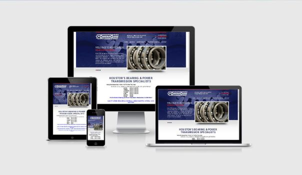 Powerhouse Bearing and Supply website by shapemetal