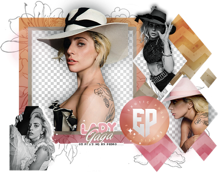 Pack Png 2251 // Lady Gaga by ExoticPngs