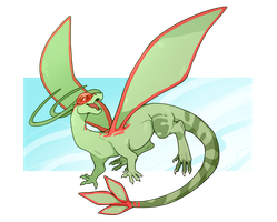 Flygon by corycatte
