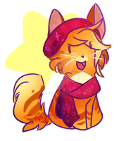 Amber chibi by StarGazingHipster
