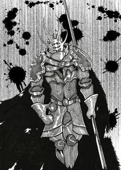 OC - Knight by Xemnos