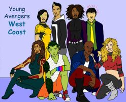 Young Avengers: West Coast by tapwater86