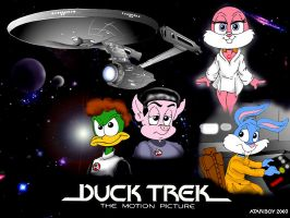 Duck Trek: The Motion Picture. by Atariboy2600