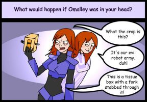 Red Vs Blue: Katie and Omalley by Criana