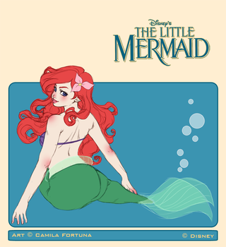 The Little Mermaid by CamiFortuna