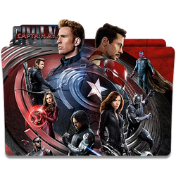 Captain America: Civil War Icon by KSan23