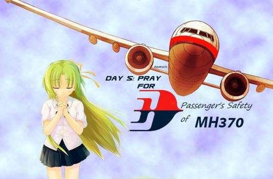 Pray For MH370 (Anime version) by mortarage5