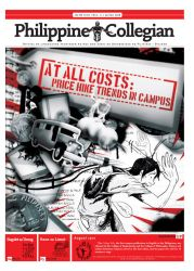 Philippine Collegian issue 11 by kule-0809