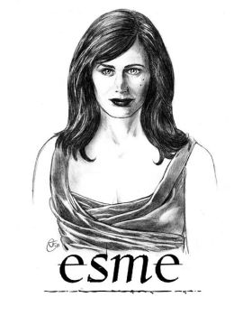 Esme Cullen Twilight portrait by antalas