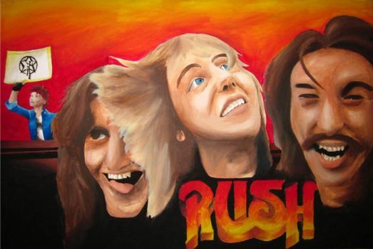 Rush Painting by VaporTrails2