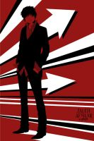 Black, White, and Red All Over by jaleh