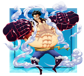 GEAR 4TH BOUND MAN! by OkiOppai