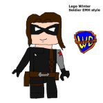 Lego AEMH Winter Soldier by Dinzydragon