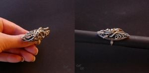 filigree silver ring by Atalia65