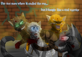 Fought Like a Warrior by WarriorCat3042