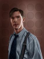 Alan Turing (The Imitation Game) by Rapsag
