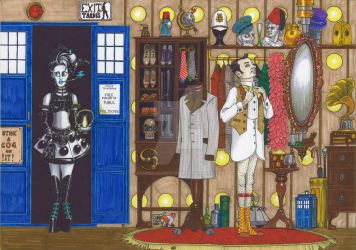 Penny Dreadful and Herr Doktor's TARDIS Wardrobe by AndrewJohnCraven