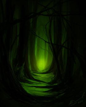 Dark Forest by Future-Infinity