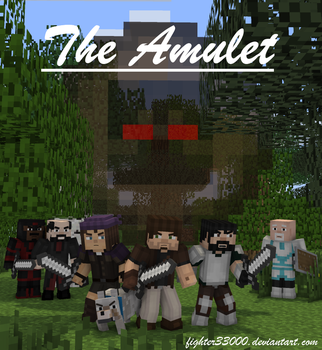 [Comic] The Amulet - Cover Page by fighter33000