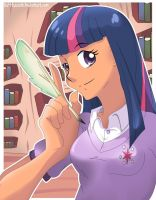 Twilight Sparkle by Val-Hasseth