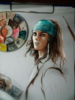 Young Jack Sparrow ver.2 by Alison1607