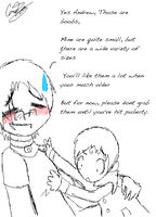 Andrew you have much to learn by Jigsaw-Chan