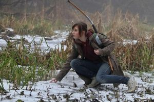 Tracking a deer - Ellie - Tha Last of Us by Juriet